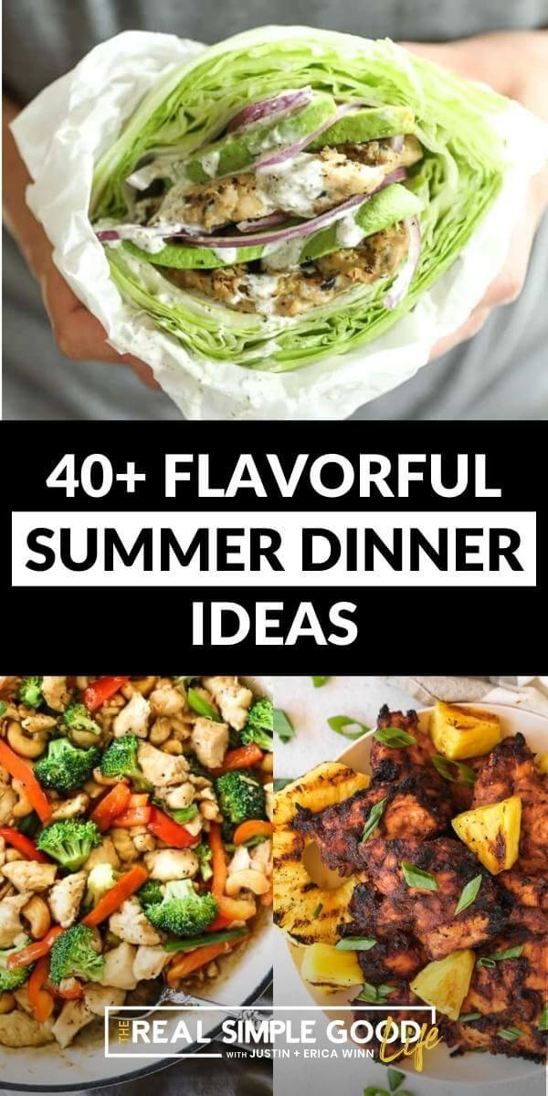 Flavorful, Easy Summer Dinner Ideas