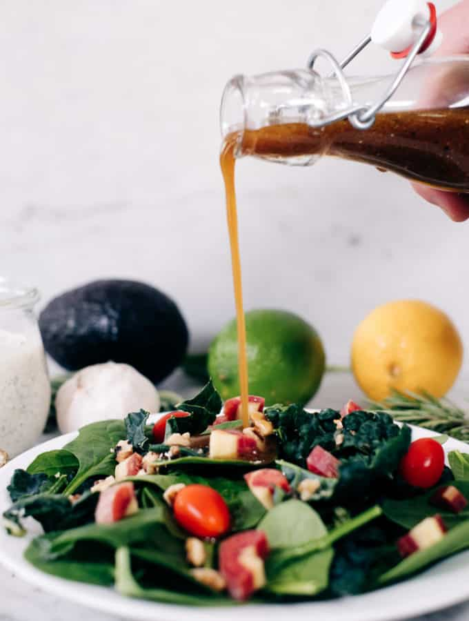 8 Healthy Salad Dressing Recipes (Paleo + Whole30)