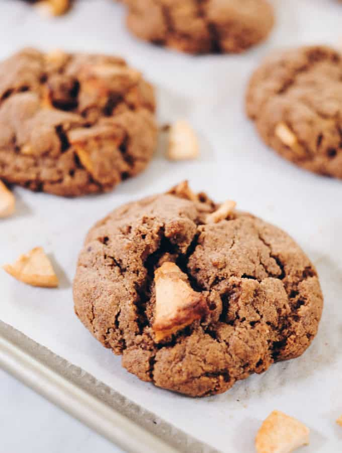 Apple Cinnamon Cookies (Paleo, GF, Dairy-Free + Refined Sugar-Free)
