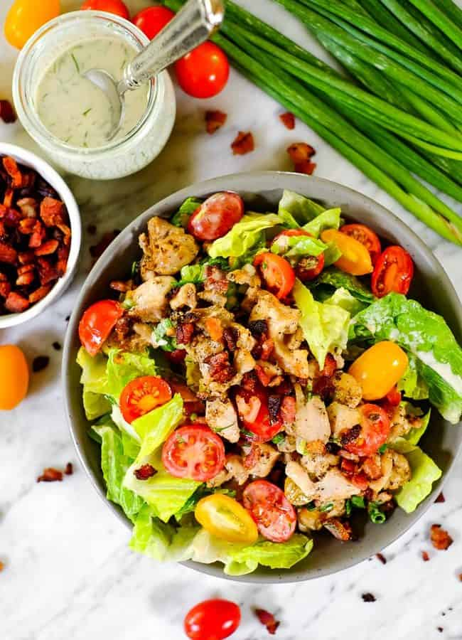 BLT Salad (Paleo + Whole30)
