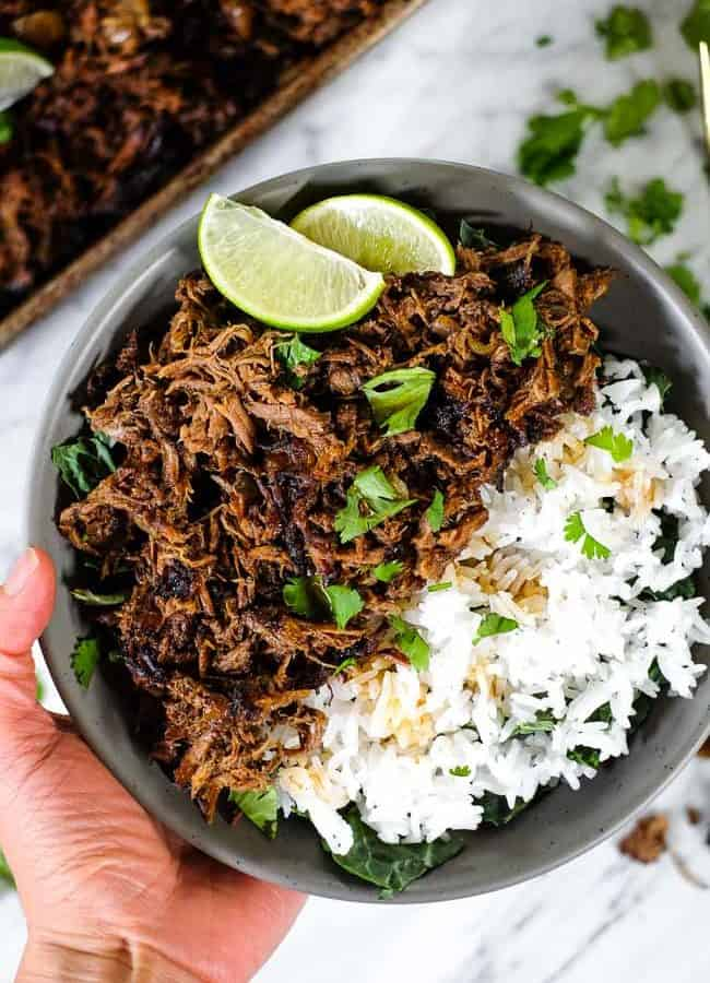 Beef Barbacoa (Paleo + Whole30) Slow Cooker or Instant Pot