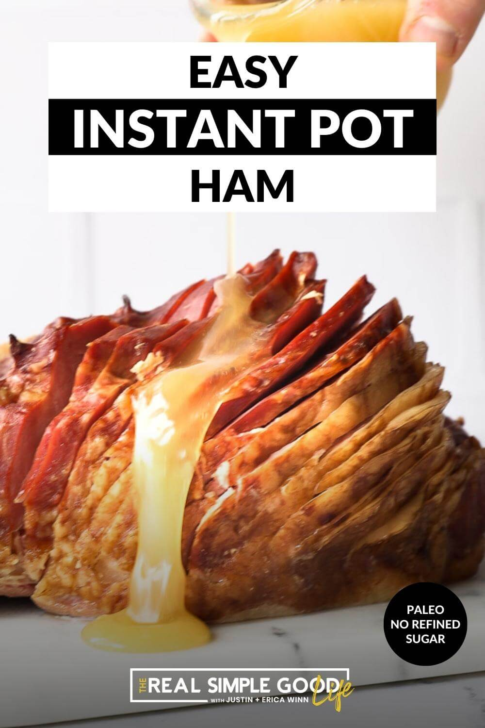 Easy 2-Ingredient Instant Pot Ham