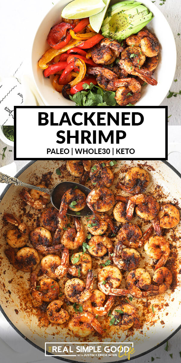 Easy Blackened Shrimp Recipe