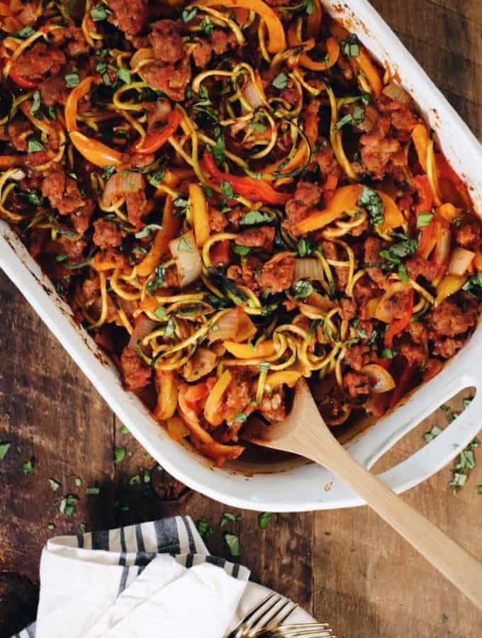 Easy Zucchini Casserole (Paleo + Whole30)