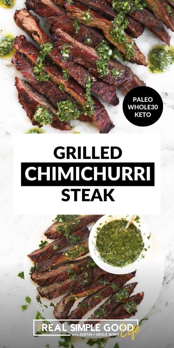 Fresh Chimichurri Sauce for Flank or Skirt Steak