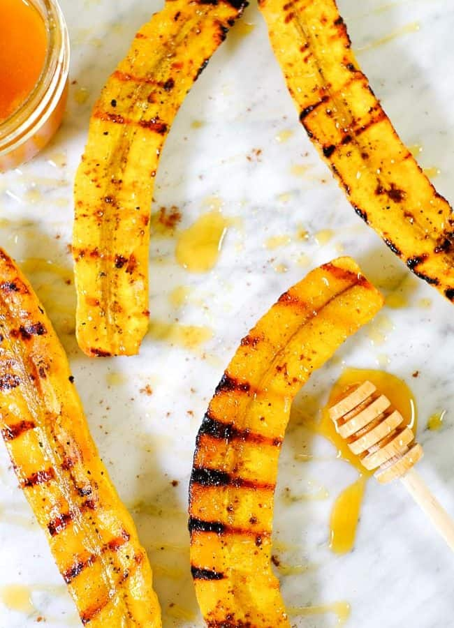 Grilled Plantains (Paleo + Whole30 Option)