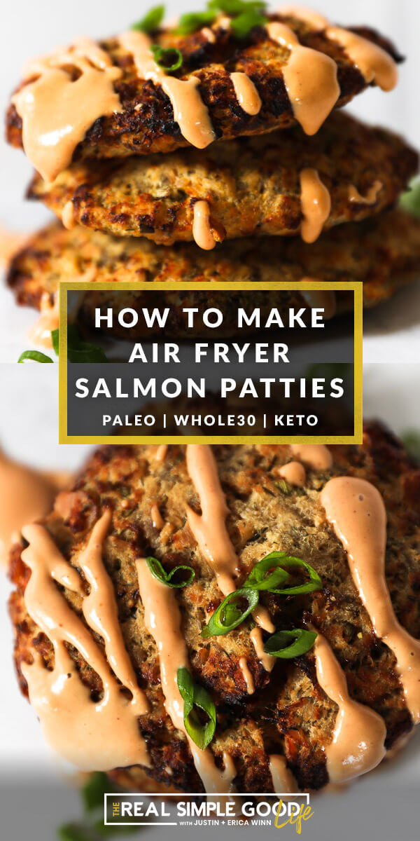 How to Make Air Fryer Salmon Patties