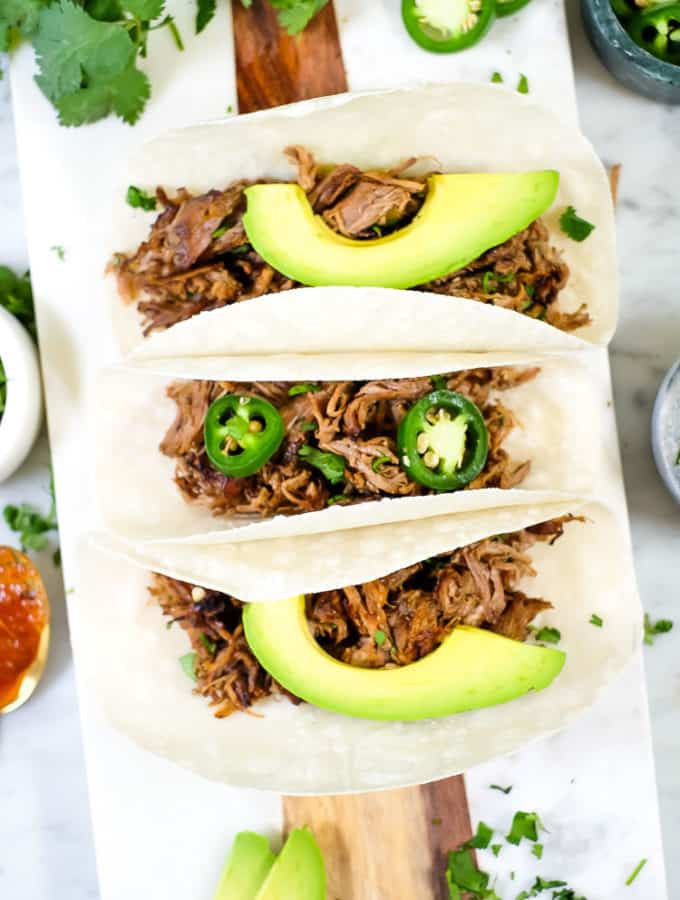 Instant Pot Carnitas (Paleo + Whole30)