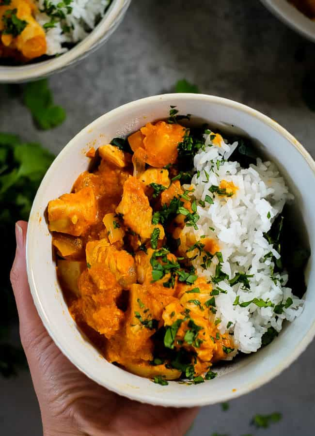 Instant Pot Chicken Curry (Paleo + Whole30)