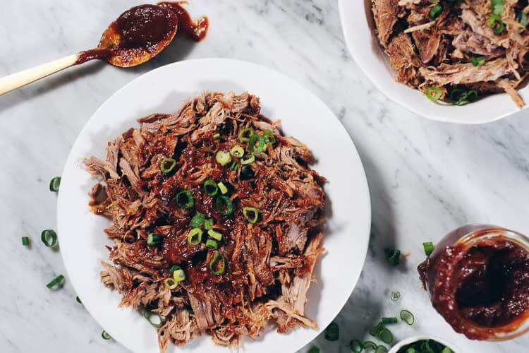 Instant Pot Whole30 Pulled Pork With Bbq Sauce Paleo Whole30