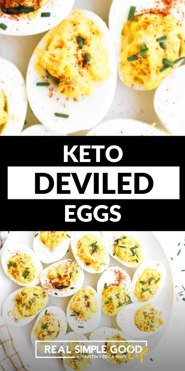 Deliciously Creamy Keto Deviled Eggs