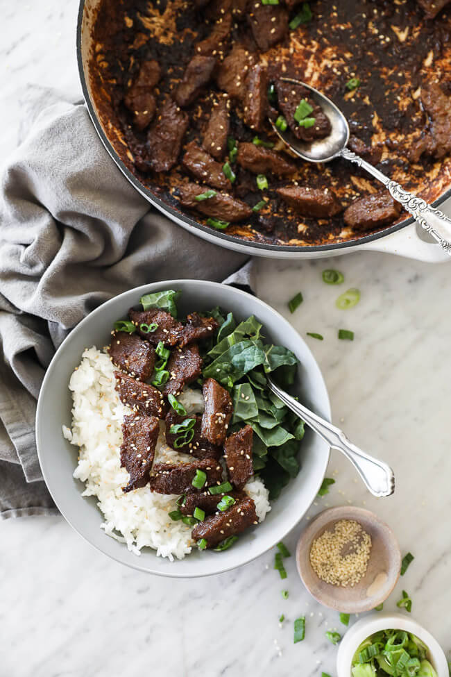 Korean Beef Bulgogi Paleo Whole30 Options The Real Simple Good Life