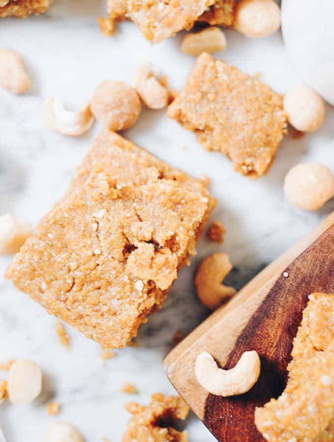 No Bake Mango Bars (Paleo, GF, Refined Sugar-Free)
