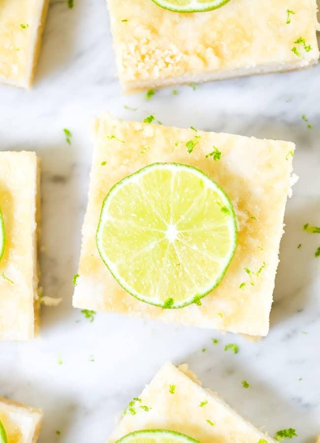 Paleo Lime Bars (GF, Dairy-Free + Refined Sugar-Free)