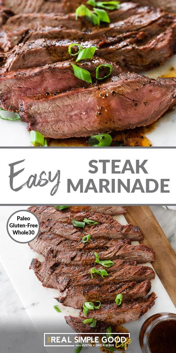 Paleo Steak Marinade (Gluten Free + Whole30)