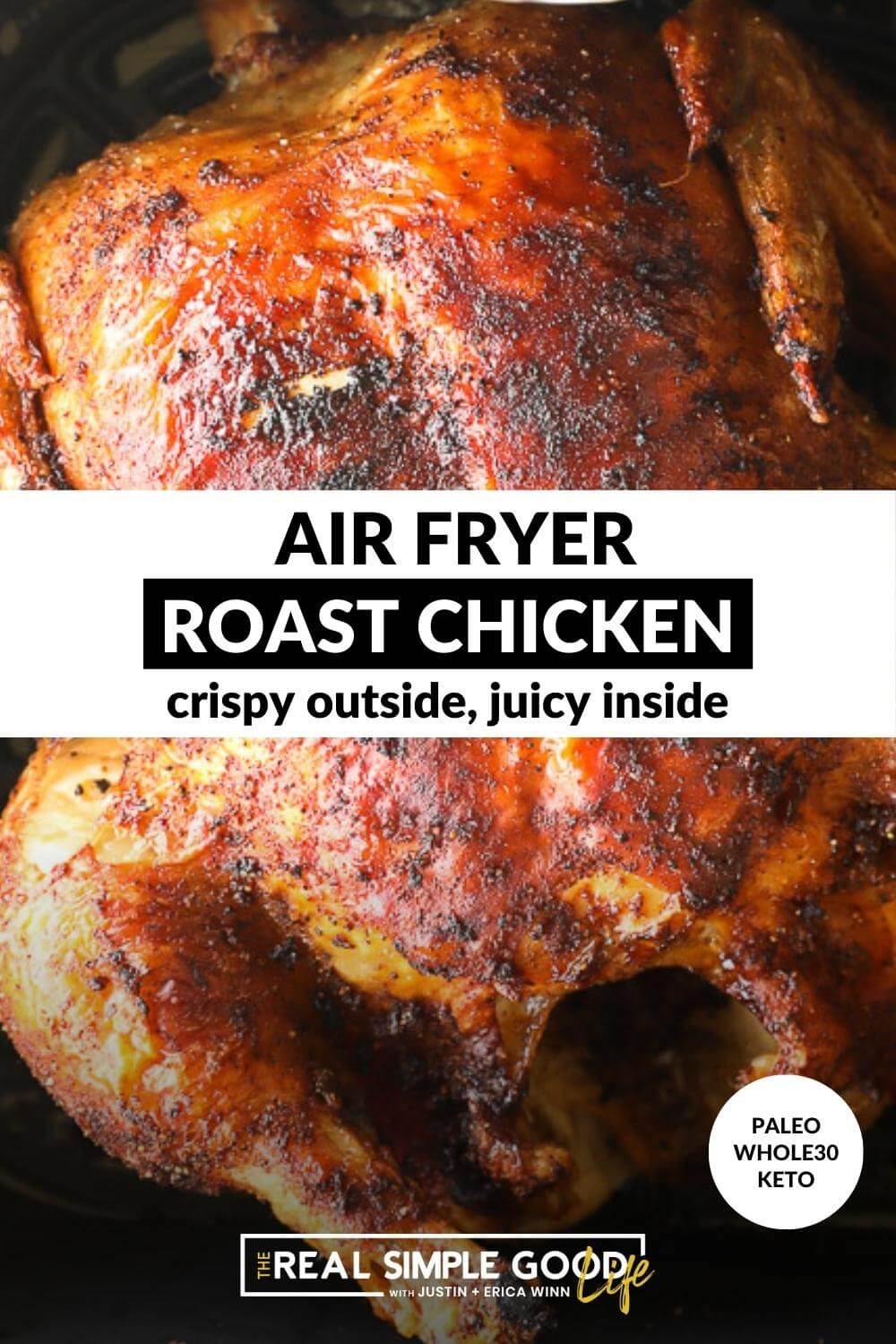 Perfect Air Fryer Roast Chicken