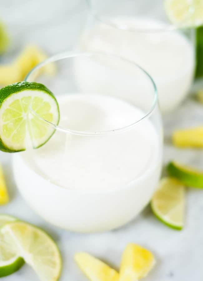 Piña Colada Smoothie (Paleo, Dairy-Free + Refined Sugar-Free)