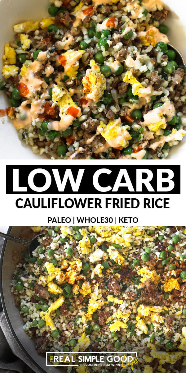Quick, Easy Keto Cauliflower Fried Rice