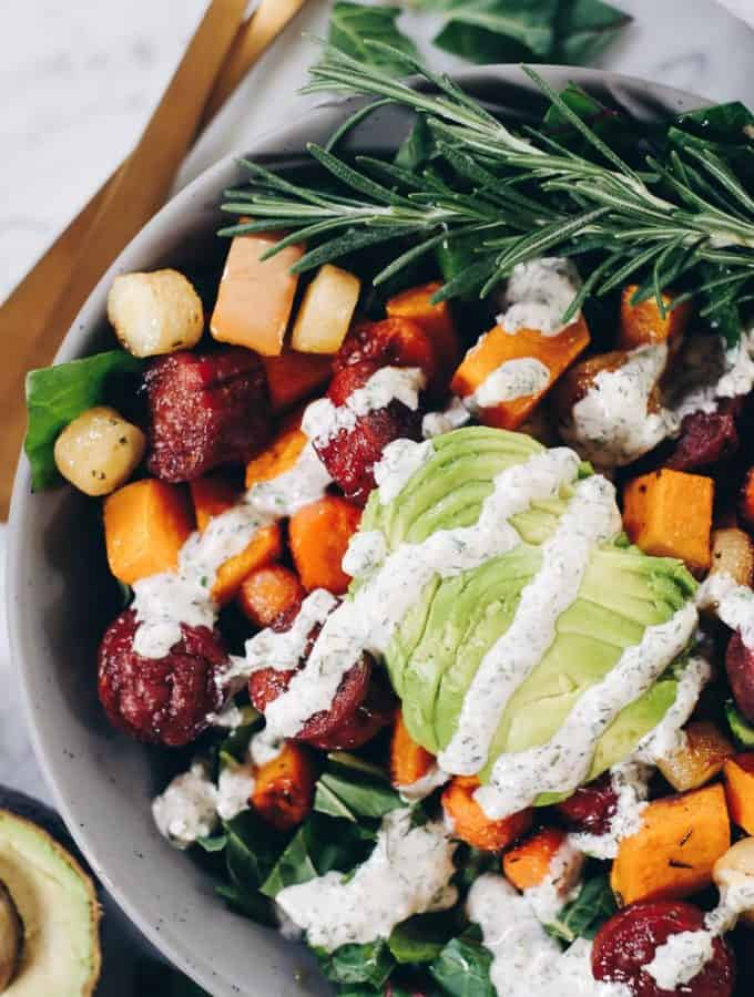 Sheet Pan Roasted Sausage and Vegetables (Paleo + Whole30)