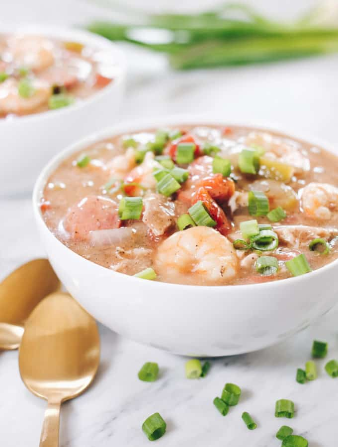 Slow Cooker Paleo Gumbo (Whole30)